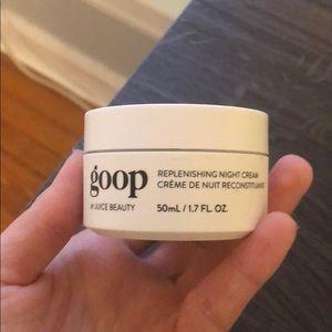 Goop facial moisturizer